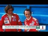 Muere Niki Lauda, legendario piloto de Fórmula 1 | Noticias con Francisco Zea
