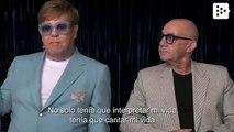 Elton John and Bernie Taupin talk about Rocketman at Cannes