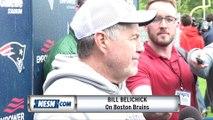 Bill Belichick, Julian Edelman Have Bruins Stanley Cup Fever