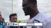 Patriots' Ben Watson On Tom Brady: 'He's The Guy'