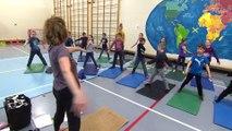 BONNE NOUVELLE CIMT | Des cours de yoga pour des élèves du primaire