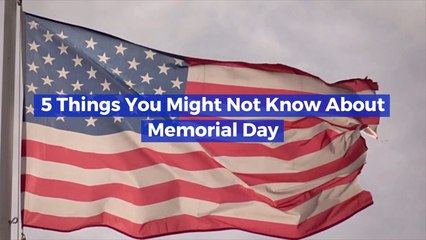 Get Your Memorial Day Facts Ready For The Weekend
