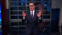 Stephen Colbert Sums Up Donald Trump's Infrastructure Press Conference
