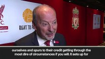(Subtitled) 'A great Champions League final' - Liverpool CEO on playing Tottenham