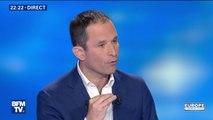 """Benoît Hamon: """"Nous sommes sous la menace d'une internationale raciste face à laquelle on cède du terrain"""""""