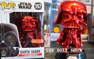 Star Wars Darth Vader Red Chrome Funko Pop Target Exclusive Detailed Review Unboxing