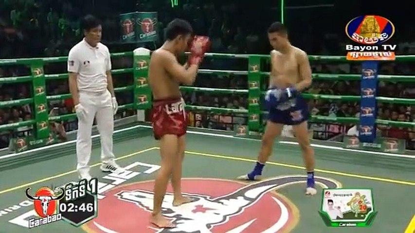 Chan Sinat, Cambodia Vs Thai, Senthanung, 19 May 2019, International Boxing, Kun Khmer Boxing | Godialy.com