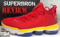 Nike Lebron 16 Superbron Low Sneaker Detailed Review