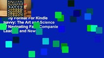 Any Format For Kindle  Savvy: The Art and Science of Navigating Fake Companies, Leaders and News