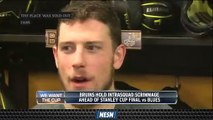 Charlie Coyle Loved Support From Bruins Fans During TD Garden Scrimmage