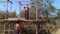 primitive technology Build House And Water Slide