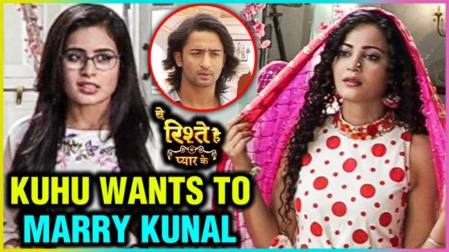 Kuhu Wears Mishti's WEDDING DRESS   Falls In Love With Kunal   Yeh Rishtey Hai Pyaar Ke
