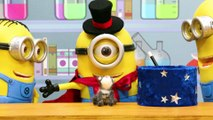Minions STOP MOTION (Video) Minions Magic Tricks! Minions Stop Motion Animation  Crafty Kids