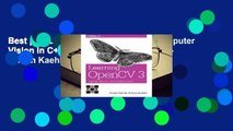 Best product  Learning OpenCV 3: Computer Vision in C++ with the OpenCV Library - Adrian Kaehler