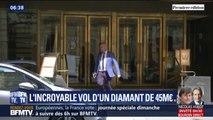 L'incroyable vol d'un diamant de 45 millions d'euros dans un hôtel parisien