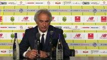 FC Nantes - RC Strasbourg : La réaction de Vahid Halilhodzic