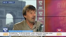 """Nicolas Hulot """"ne pense pas"""" s'engager à nouveau en politique"""