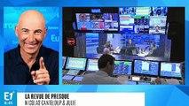 """Benoît Hamon espère toujours remporter les Européennes : """"Il me reste deux jours pour multiplier mon score par dix !"""" (Canteloup)"""