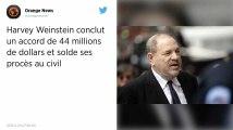 Affaire Weinstein. 44 millions de dollars de dédommagement aux victimes et créanciers de l'ex-producteur