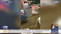 Inondations dans les Hautes-Pyrénées: une coulée de boue envahit une école de Beaudéan