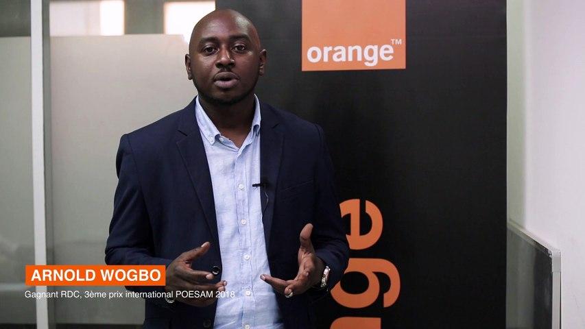Retour d'expérience d'Arnold Wogbo, 3e au Prix Orange de l'Entrepreneur Social 2018
