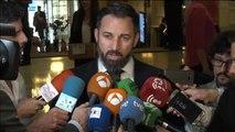 """Abascal amenaza con llevar a Batet a los tribunales si no suspende """"inmediatamente"""" a los diputados presos"""