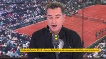 « J'ai conscience de la chance que j'ai d'être le présentateur de Roland-Garros »