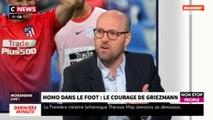 Morandini Live : Antoine Griezmann engagé contre l'homophobie dans le foot (vidéo)