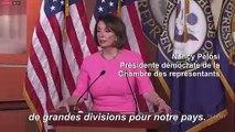 """Pelosi: les démocrates ne sont """"pas sur la voie d'une destitution"""""""