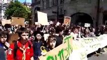 Marche des jeunes pour le climat à Besançon