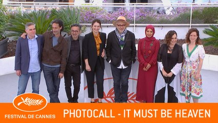 IT MUST BE HEAVEN - Photocall - Cannes 2019 - VF