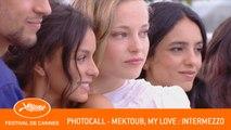 MEKTOUB MY LOVE INTERMEZZO - Photocall - Cannes 2019 - EV