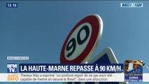 En Haute-Marne, 500 des 4000 kilomètres de routes devraient repasser à 90km/h
