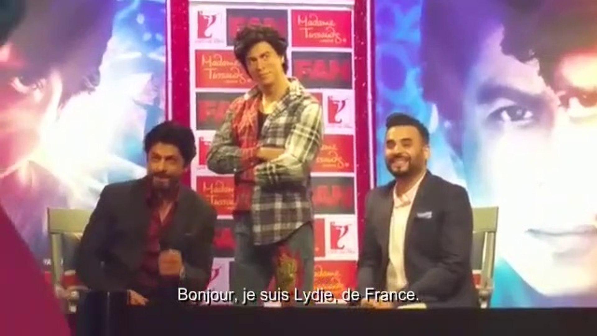 Shahrukh Khan Intervention French SRK Revolution