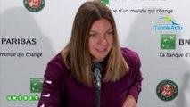 """Roland-Garros 2019 - Simona Halep : """"C'est plus facile d'être tenante du titre"""""""
