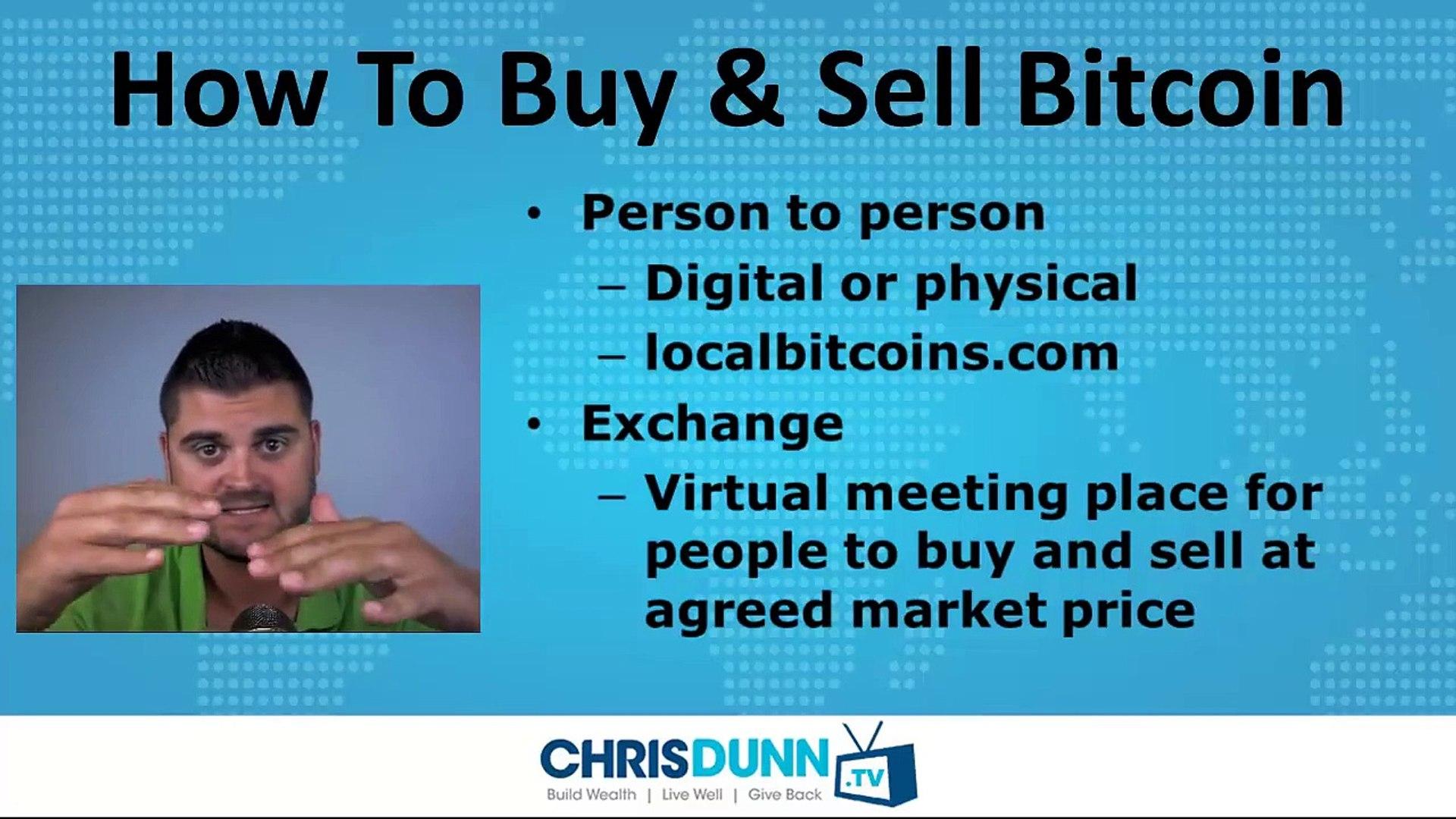 Bitcoin Basics (Part 3) - _Exchanges_
