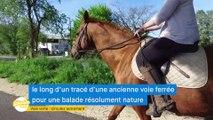 Gironde Mag' - La voie verte de Langon