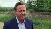 David Cameron voices sympathy for Theresa May