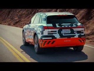 Audi e tron prototype en Pikes Peak