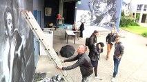 Reportage - Du street art au lycée Marie Curie