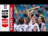 Germany v Great Britain | Week 14 | Women's FIH Pro League Highlights