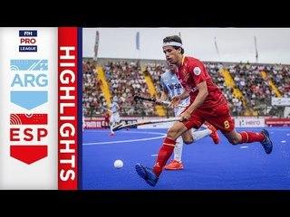 Argentina v Spain | Week 11 | Men's FIH Pro League Highlights