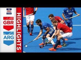 Great Britain v Argentina | Week 17 | Men's FIH Pro League Highlights