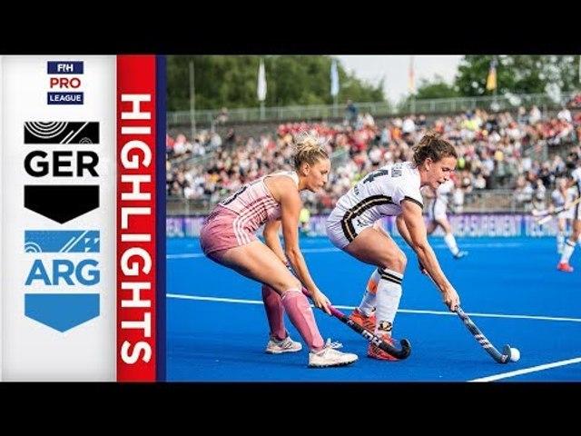 Germany v Argentina | Week 18 | Women's FIH Pro League Highlights