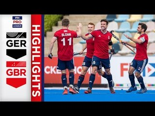 Germany v Great Britain | Week 14 | Men's FIH Pro League Highlights
