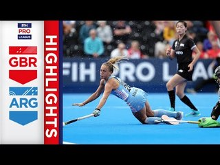Great Britain v Argentina | Week 17 | Women's FIH Pro League Highlights