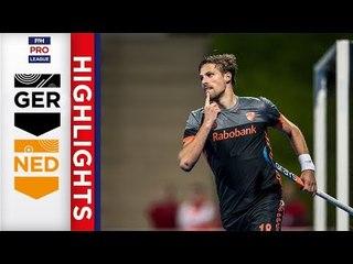 Germany v Netherlands | Week 14 | Men's FIH Pro League Highlights