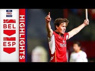 Belgium v Spain | Week 12 | Men's FIH Pro League Highlights