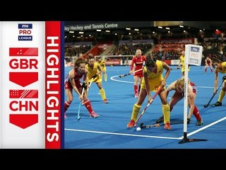 Great Britain v China | Week 15 | Women's FIH Pro League Highlights