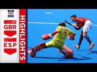 Great Britain v Spain | Week 15 | Men's FIH Pro League Highlights